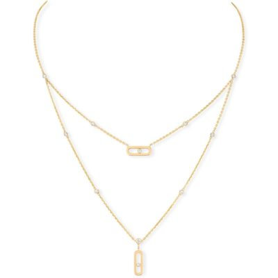MESSIKA Baby Move NECKLACE - YELLOW GOLD