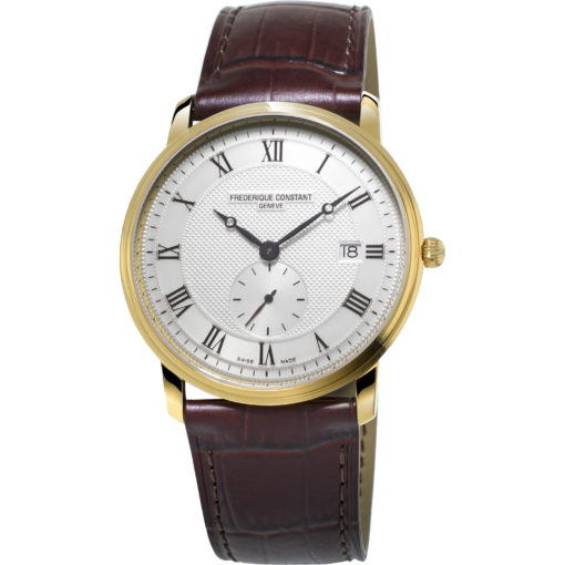 FREDERIQUE CONSTANT Classics Slim Line Silver Dial Men's Watch 245M5S5 - Carats Jewelry and Gifts