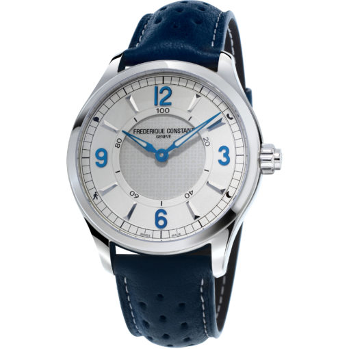 FREDERIQUE CONSTANT Horological Silver Dial Men's Smart Watch - Carats Jewelry and Gifts