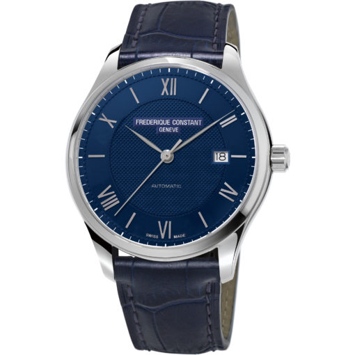 FREDERIQUE CONSTANT Classics Automatic Blue Dial Men's Watch - Carats Jewelry and Gifts