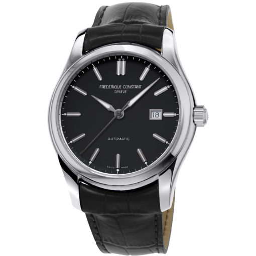 FREDERIQUE CONSTANT Classics Automatic Black Dial Men's Watch - Carats Jewelry and Gifts