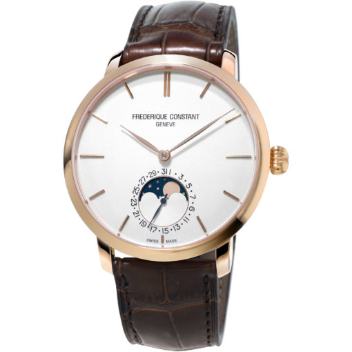 FREDERIQUE CONSTANT SLIMLINE MOONPHASE - Carats Jewelry and Gifts