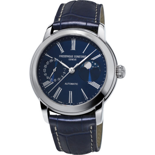 FREDERIQUE CONSTANT CLASSIC MOONPHASE MANUFACTURE - Carats Jewelry and Gifts