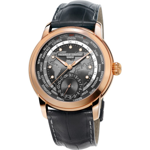 FREDERIQUE CONSTANT MANUFACTURE WORLDTIMER - Carats Jewelry and Gifts