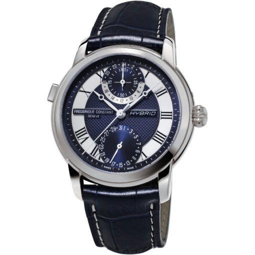 FREDERIQUE CONSTANT Hybrid Navy Dial Manufacture Automatic Men's Smart Watch - Carats Jewelry and Gifts