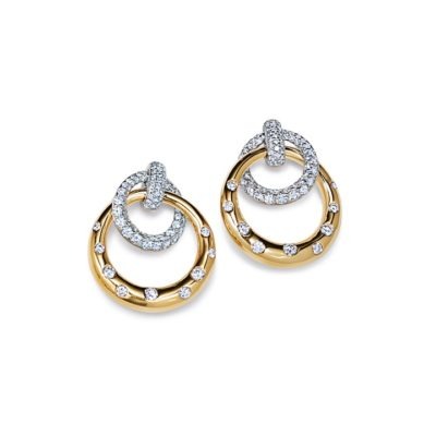 Kwiat Interlocking Earrings