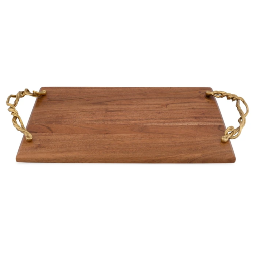 MICHAEL ARAM Wisteria Gold Bread Board - Carats Jewelry and Gifts